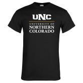 Black T Shirt-UNC Academic Block