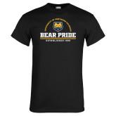 Black T Shirt-Bear Pride