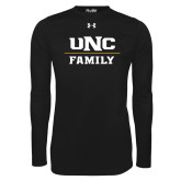 Under Armour Black Long Sleeve Tech Tee-Family