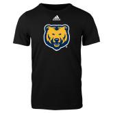 Adidas Black Logo T Shirt-UNC Bear Logo