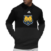 Adidas Black Team Issue Hoodie-UNC Bear Logo