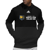 Adidas Black Team Issue Hoodie-University of Northern Colorado Horizontal