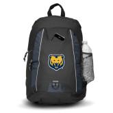 Impulse Black Backpack-UNC Bear Logo