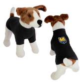 Classic Black Dog T Shirt-UNC Bear Logo