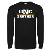 Black Long Sleeve T Shirt-Brother