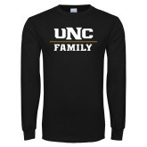 Black Long Sleeve T Shirt-Family