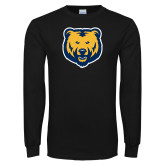Black Long Sleeve T Shirt-UNC Bear Logo