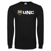 Black Long Sleeve T Shirt-UNC Bears
