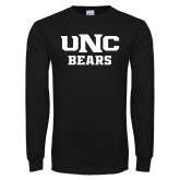 Black Long Sleeve T Shirt-UNC Bears Collegiate
