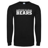 Black Long Sleeve T Shirt-University of Northern Colorado Bears Collegiate
