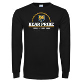 Black Long Sleeve T Shirt-Bear Pride