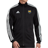 Adidas Black Tiro 19 Training Jacket-UNC Bear Logo