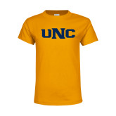Youth Gold T Shirt-UNC