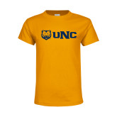 Youth Gold T Shirt-UNC Bears