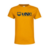 Youth Gold T Shirt-UNC University of Northern Colorado