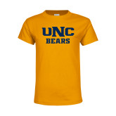Youth Gold T Shirt-UNC Bears Collegiate