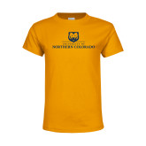 Youth Gold T Shirt-University of Northern Colorado Academic