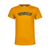 Youth Gold T Shirt-University of Northern Colorado