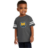 Toddler Vintage Charcoal Jersey Tee-UNC Bear Logo