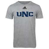 Adidas Sport Grey Logo T Shirt-UNC