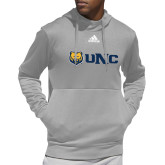 Adidas Grey Team Issue Hoodie-UNC Bears