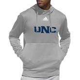 Adidas Grey Team Issue Hoodie-UNC