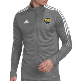 Adidas Grey Tiro 19 Training Jacket-UNC Bear Logo