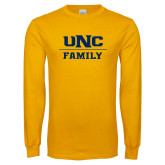Gold Long Sleeve T Shirt-Family