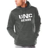 Under Armour Carbon Armour Fleece Hoodie-UNC Bears Collegiate