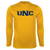Performance Gold Longsleeve Shirt-UNC