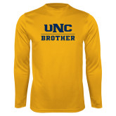 Performance Gold Longsleeve Shirt-Brother