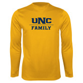 Performance Gold Longsleeve Shirt-Family