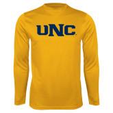 Performance Gold Longsleeve Shirt-UNC
