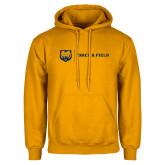 Gold Fleece Hoodie-Track & Field