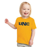 Toddler Gold T Shirt-UNC