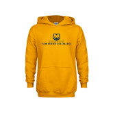 Youth Gold Fleece Hoodie-University of Northern Colorado Academic