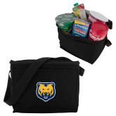 Six Pack Black Cooler-UNC Bear Logo