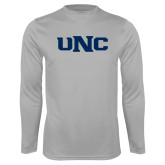 Performance Platinum Longsleeve Shirt-UNC