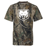 Realtree Camo T Shirt-UNC Bear Logo