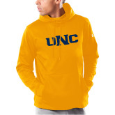 Under Armour Gold Armour Fleece Hoodie-UNC