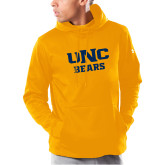 Under Armour Gold Armour Fleece Hoodie-UNC Bears Collegiate