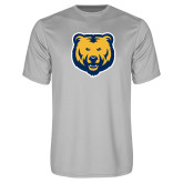 Performance Platinum Tee-UNC Bear Logo