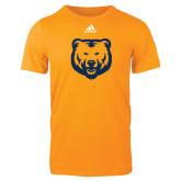 Adidas Gold Logo T Shirt-UNC Bear Logo