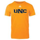 Adidas Gold Logo T Shirt-UNC