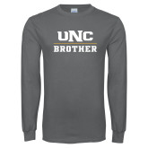 Charcoal Long Sleeve T Shirt-Brother