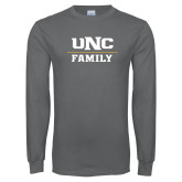 Charcoal Long Sleeve T Shirt-Family