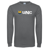 Charcoal Long Sleeve T Shirt-UNC Bears