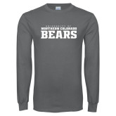 Charcoal Long Sleeve T Shirt-University of Northern Colorado Bears Collegiate