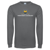 Charcoal Long Sleeve T Shirt-University of Northern Colorado Academic