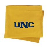 Gold Sweatshirt Blanket-UNC
